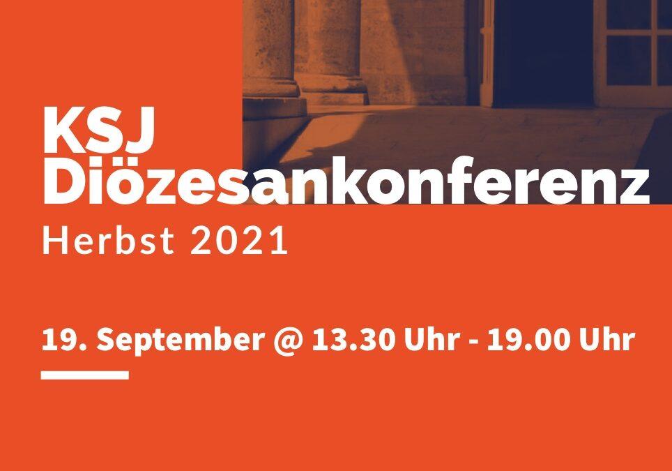 Einladung zur Diözesankonferenz